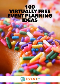 We have all worked on events with a great vision but no budget to match. Here are 100 ideas to help you create an amazing event that cost next to nothing when funds are limited.