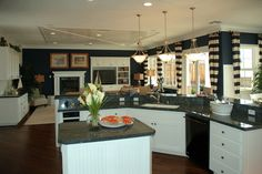 White cabinets blue countertops blue countertop for Navy blue granite countertops