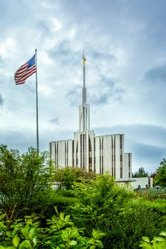 """Raise the Standard"" Seattle Washington LDS Temple"