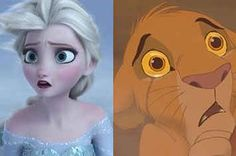 """Here Is Definitive Proof That """"Frozen"""" Is Literally The Same Movie As """"The Lion King""""  #SMH #Disney did it again"""