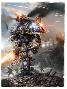 Your daily dose of the very best Warhammer 40k art, lore & models. A blog written and curated by a...