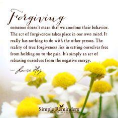 #Forgiveness #Freedom #mindfulness