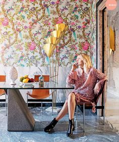 Poppytalk: 9 Summery Wallpapers We Love