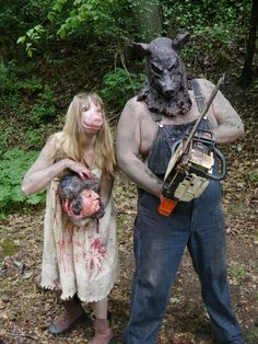 porkchop pig girl wv backwoods horror you just got porkchopped biiiiiiiitch scary couples costumescute halloween - Couple Halloween Costumes Scary