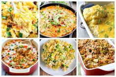 20 Easy to Make Gluten-Free Casseroles - Ideal Me Gluten Free Casserole, Gluten Free Kitchen, Cauliflower Cheese, Fried Rice, Gluten Free Recipes, Free Food, Dairy Free, Dinner Recipes, Casseroles