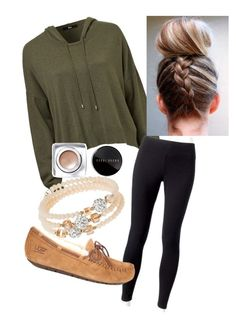 """""""Untitled #27"""" by scoda on Polyvore featuring Jockey, UGG Australia, Bobbi Brown Cosmetics and sweet deluxe"""