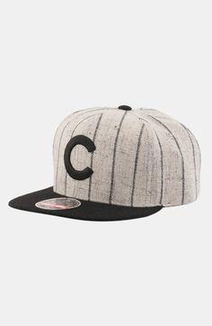3c92f5c8267 Men s American Needle  Chicago Cubs - 400 Series  Snapback Baseball Cap -  Grey