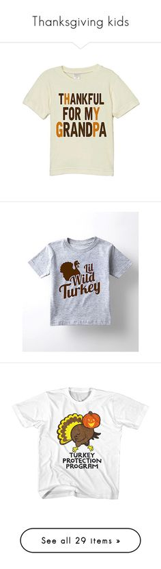 """""""Thanksgiving kids"""" by larinhacarter on Polyvore featuring tops, t-shirts, graphic tops, cotton t shirts, cotton tees, white cotton tops, white t shirt, graphic print t shirts, graphic tees e white cotton t shirts"""