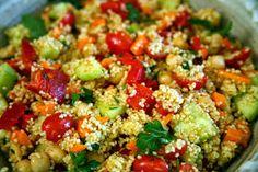 Κουζινομαγειρέματα: Σαλάτα με κους κους