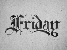 #type, #typography, #calligraphy, #lettering