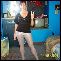 Top pantyhose amateur