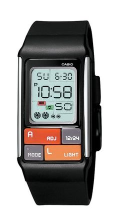 Casio Womens LDF501CF Pop Tone Black Digital Watch -- Want to know more, click on the image.Note:It is affiliate link to Amazon.