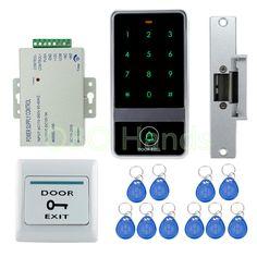 198 best electric locks images access control, locks, security gadgetsdiy rfid waterproof metal door access control system with nc fail safe electric strike lock system