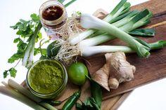 Spring Green Thai Curry Paste