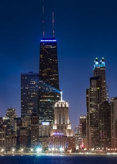 Blue Chicago | by Megareds. Pinned by #CarltonInnMidway - www.carltoninnmidway.com