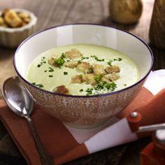 Lauch-Kartoffel-Suppe mit Croûtons Rezept   LECKER