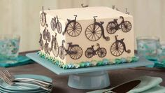 Wilton Cakes, Cupcake Cakes, Cupcakes, Mountain Bike Cake, Bike Cakes, Cake Decorating Techniques, Decorating Ideas, Cake Creations, Royal Icing