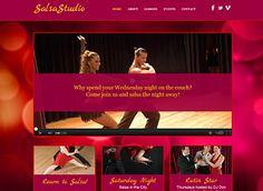 Kid's Dance Studio Brochure Template Design | dance studio ...