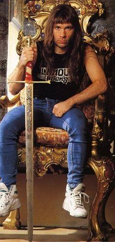 Bruce Dickinson-Iron Maiden..........