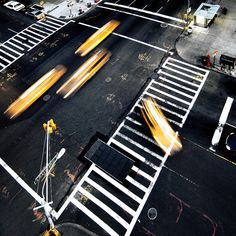 cabs and ladders by fotobananas, via Flickr