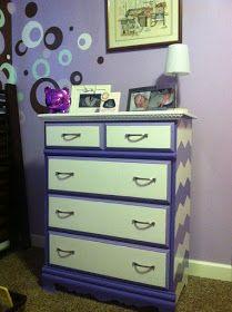 MinettesMaze: Th Purple People eater- Dresser Redo