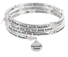 The Lords Prayer Bracelet   dont have any more but would love to try and make