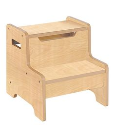 Natural Expressions Step Stool #zulilyfinds  sc 1 st  Pinterest & My Step Stool - Extra Large Wooden Step Stool - more finishes ... islam-shia.org