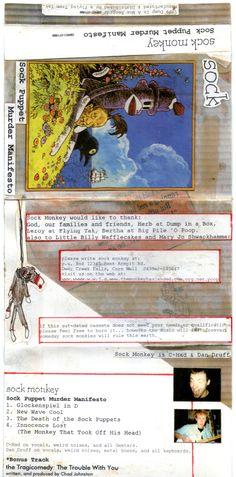 "Sock Monkey: ""Sock Puppet Murder Manifesto"" EP (Free MP3 Download)"
