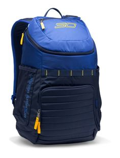 UA Storm technology delivers an element-battling, highly water-resistant finish Tough, abrasion-resistant bottom panel Foam reinforced panels ad. Mochila Under Armour, Under Armour Backpack, Backpack Online, Men's Backpack, Backpack Reviews, Cool Backpacks, Under Armour Men, Stephen Curry, Long Sleeve Shirts