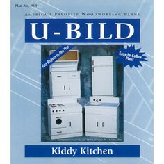 U-bild Kiddy Kitchen Woodworking Plan 363