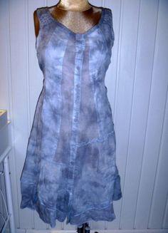 Kup mój przedmiot na #vintedpl http://www.vinted.pl/damska-odziez/krotkie-sukienki/9917709-szara-cieniowana-tie-dye-sukienka-mgielka-za-kolana