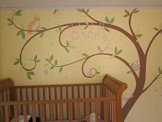 Tree Mural- Finally.. Almost what I'm wanting... Good thing I can tweak it to exact.