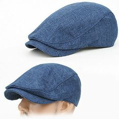 Newsboy Beret SRN BLUE Cabbie Golf GATSBY Flat CAP Hat