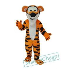 High Quality Tigger Mascot Costume Winnie the Pooh Tiger Mascot Costume Adult Party Carnival Christmas Mascot Costumes For Sale, Adult Costumes, Halloween Costumes, Cartoon Mascot Costumes, Tiger Costume, Eagle Mascot, Goofy Dog, Bulldog Mascot, Bernard Dog