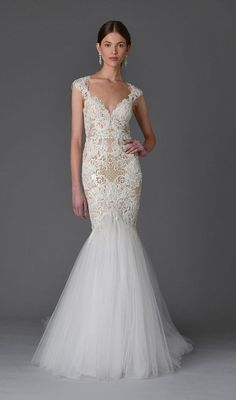 Vestido de noiva da nova coleção da Marchesa | Casar.com