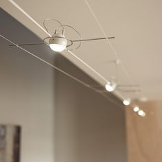 spot led sur cable ou fil tendu paulmann 4 5w stage reno diy pinterest cable stage and lights. Black Bedroom Furniture Sets. Home Design Ideas