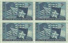 Texas Statehood Set of 4 x 3 Cent US Postage Stamps NEW Scot 938 . $0.11. One set of four (4) Texas Statehood 4 x 3 Cent postage stamps Scot #938