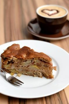 Veganer Apfel-Birnen-Kuchen
