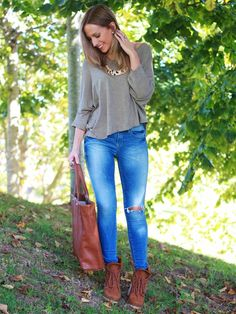Tonos tierra   Looks and shoes