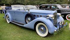 1935 Packard 1204 Dual-Cowl Phaeton.