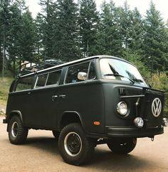 Off road modified 1973 VW bus Vw T2 Camper, Vw Bus T2, Kombi Motorhome, Volkswagen Bus, Vw T1, Vw Vanagon, Combi T2, Volkswagon Van, Kombi Home