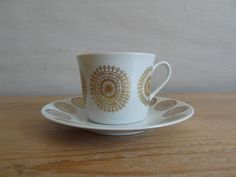 Porsgrund Norway demi tasse / coffee cup & by littledanishmood, Small Coffee Cups, Floral Patterns, Very Lovely, Cup And Saucer, Designing Women, Norway, Sweden, Scandinavian, Tea Cups