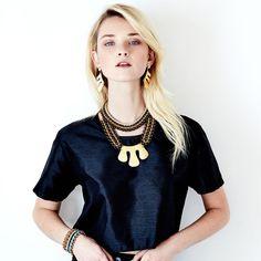 SOLLIS jewellery MEXICA necklace, TEPE choker and MEXICA earrings. http://WWW.SOLLISJEWELLERY.COM