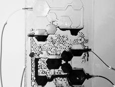 Vascular Skin, Responsive Membrane Design Glass , MIT Medial Lab