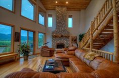 Image detail for -log cabin living room 277 log cabin interiors 85 log cabin living ...