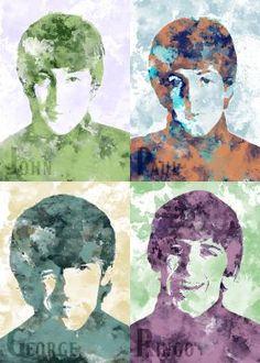 John - Paul - George - Ringo