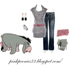 Eeyore Out & About- want those shoes!!