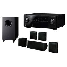Pioneer 5 1 Home Theater System With Bluetooth Receiver Htp 071 Audioxs