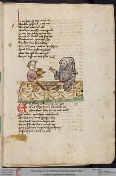 Cod. Pal. germ. 794: [Ulrich] Boner: Edelstein (Schwaben (Oberrhein?), um 1410/1420), Fol 73r