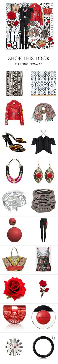"""Tribal"" by billiej-712 ❤ liked on Polyvore featuring NOVICA, Mira Mikati, Casadei, Holst + Lee, Urbiana, Dansk, Henri Bendel, Christian Dior, Sensi Studio and Cult Gaia"
